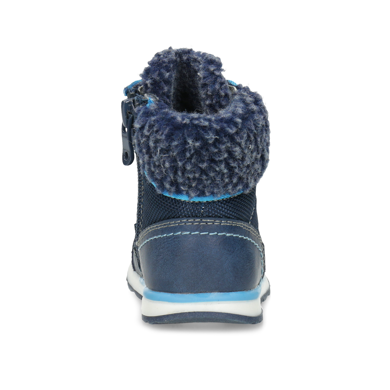 Bubblegummers Modrá dětská zimní obuv se zateplením - Všechny ... aafc6274d7